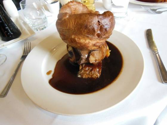 Tudor Barn, Eltham - Roast Beef and Yorkshire Pudding