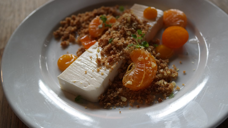 Orange Cheesecake - The George and Dragon, Speldhurst in Royal Tunbridge Wells, Kent