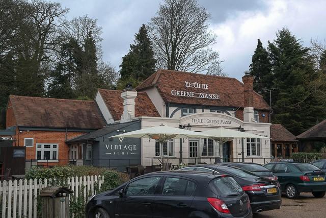 Ye Olde Greene Manne, Rickmansworth in Hertfordshire
