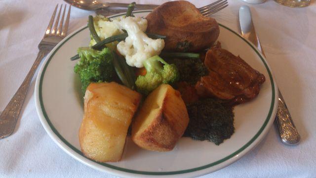 Bickley Manor Hotel, Bickley - Roast Lamb