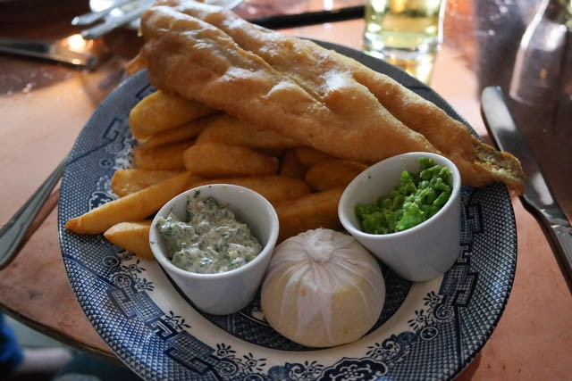 The Dirty Habit, Hollingbourne - Fish & Chips