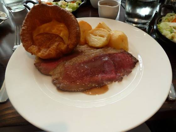 Chiswell Street Dining Rooms, Islington - Roast Beef