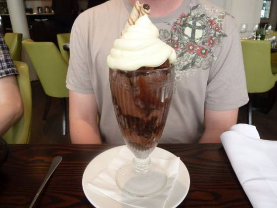 Chiswell Street Dining Rooms, Islington - Ice Cream Sundae