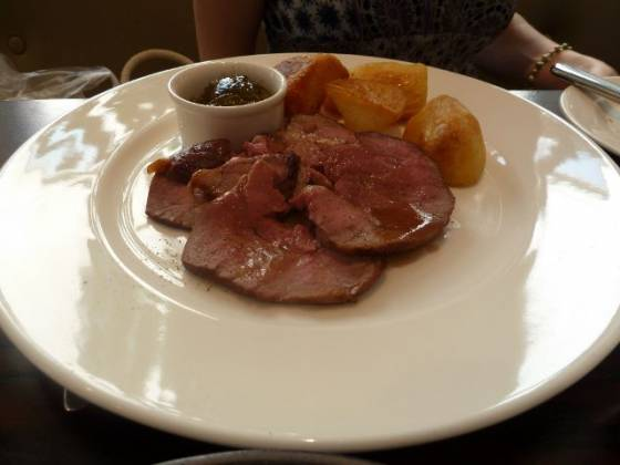 Chiswell Street Dining Rooms, Islington - Roast Lamb