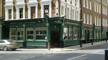 Chiswell Street Dining Rooms, Outside picture