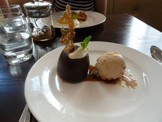 Chiswell Street Dining Rooms, Islington - Sticky Toffee Pudding