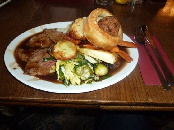 The Drayton Court, Ealing - Roast Lamb