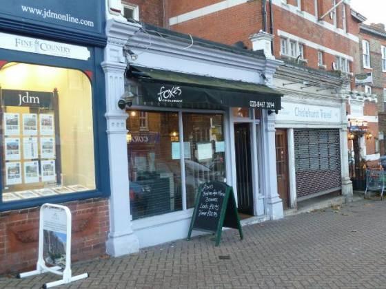 Foxes Restaurant, Chislehurst