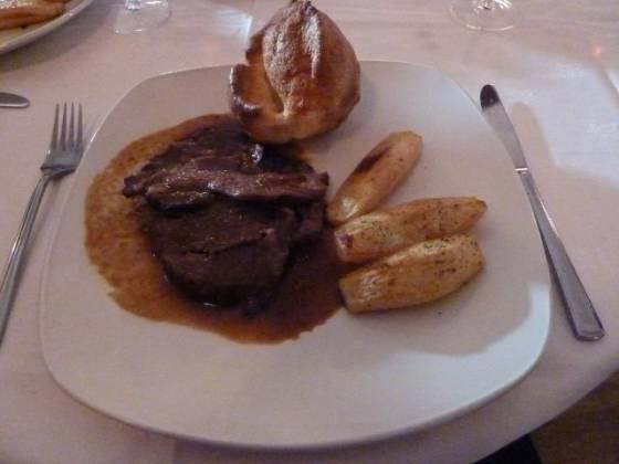Foxes Restaurant, Chislehurst - Roast Beef