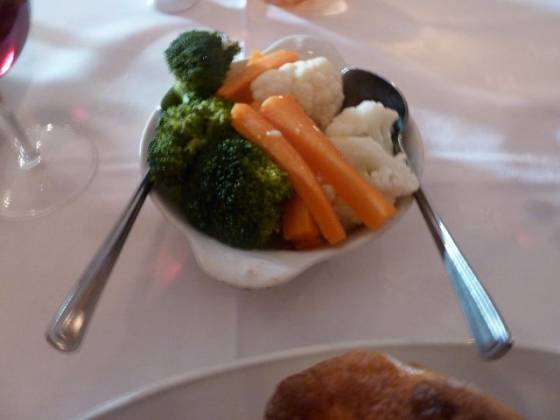 Foxes Restaurant, Chislehurst - Vegetable Dish