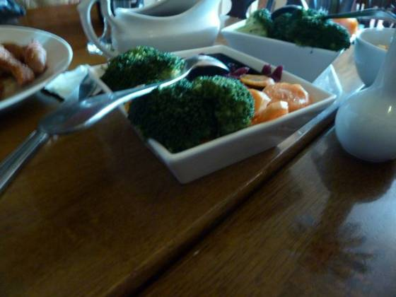 The Frog & Wicket, Eversley - Vegetables Selection