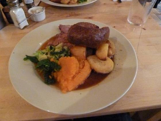 The Haven Arms, Roast Beef