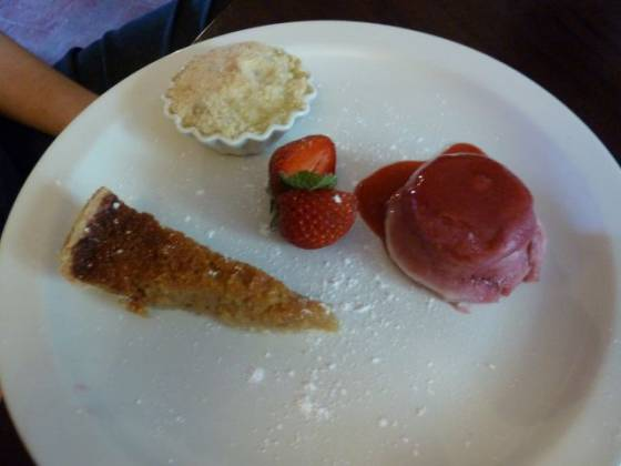 Prince Albert, Redhill - Trio of Desserts