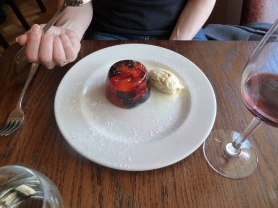 The Bull Hotel Grown Up Jelly and Ice Cream