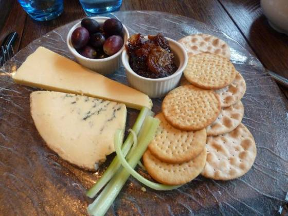 The Farmhouse, West Malling - cheese board