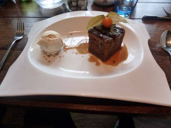 The Farmhouse, West Malling - Sticky Toffee Pudding