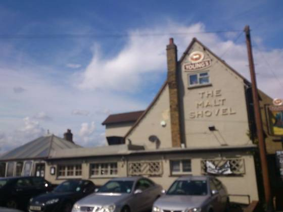 The Malt Shovel in Dartford, Kent