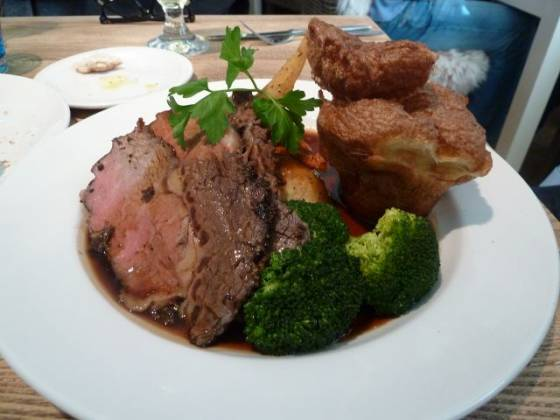 The Plough Inn, Eynsford - Roast Beef