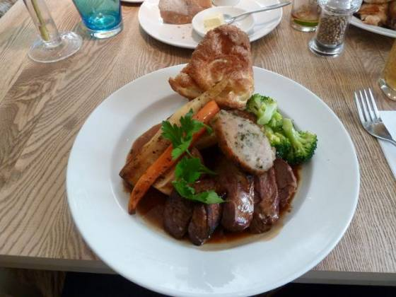 The Plough Inn, Eynsford - Roast Lamb