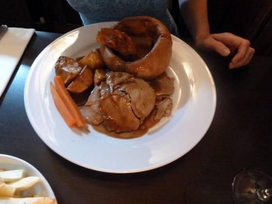 The Swan at Iver, Buckinghamshire - Roast Beef