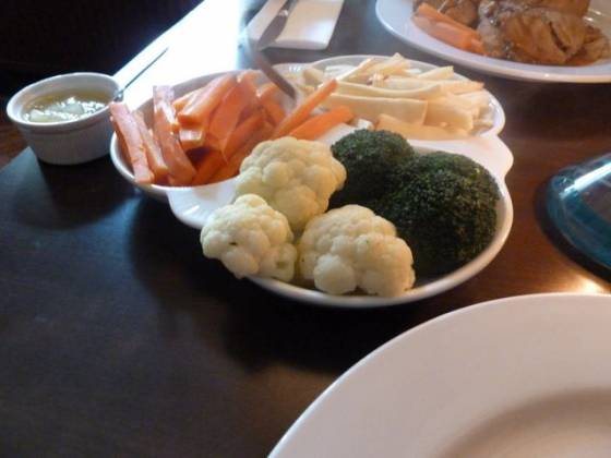 The Swan at Iver, Buckinghamshire - Vegetables