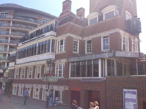 The Swan at The Globe, Bankside, London