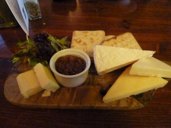 The White Horse, Sundridge - Cheese Board