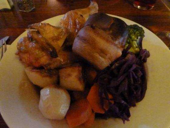 The White Horse, Sundridge - Roast Chicken
