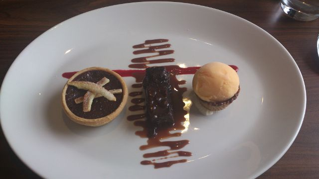 The White Lion, Aldeburgh - Dessert Trio