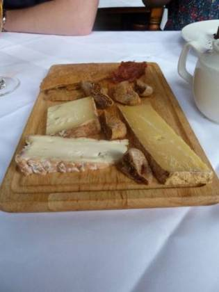 The Clarendon, Notting Hill - Cheese Board selection