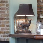 The Clarendon - moose lamp