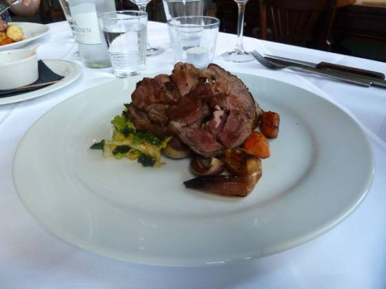 The Clarendon - Roast Lamb