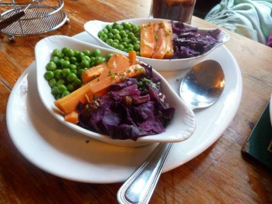 The Fox Inn, Burford, Oxon - Vegetables