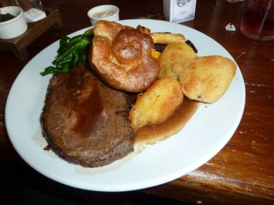 The Old Queens Head, Islington - Roast Beef