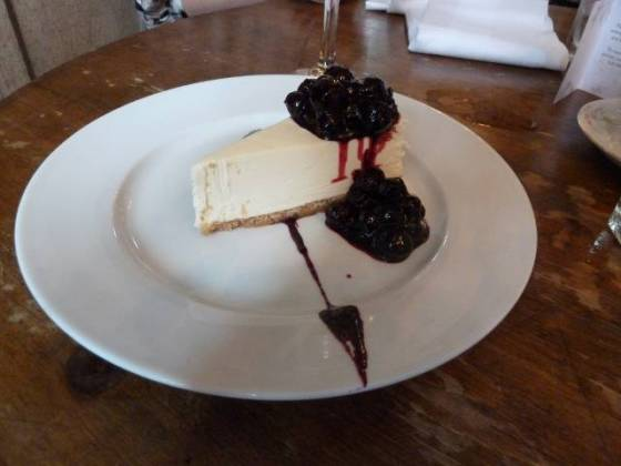 The Paradise by Way of Kensal Green - Cheesecake