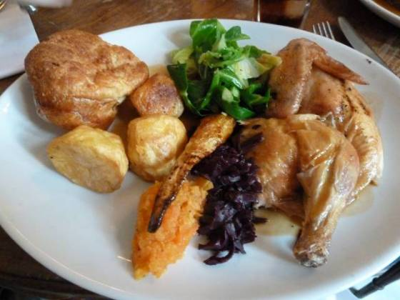 The Paradise by Way of Kensal Green - Roast Chicken