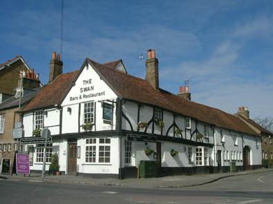 The Swan at Iver, Buckinghamshire