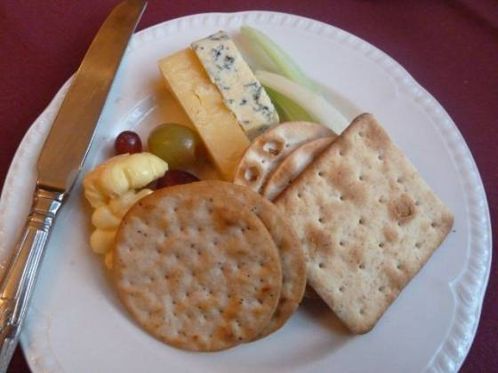 Weston Hall, Coventry - Cheese and Cracker Selection