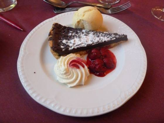 Weston Hall, Coventry - Chocolate Tart