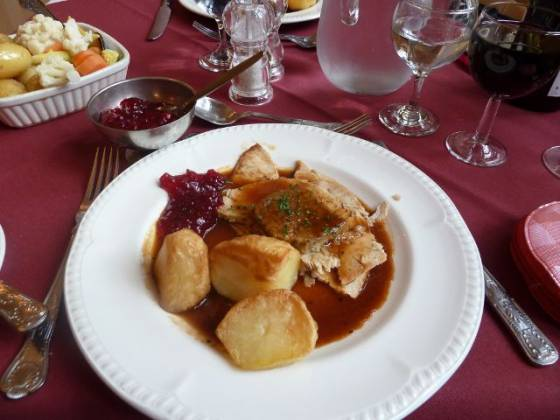 Weston Hall, Coventry - Roast Turkey